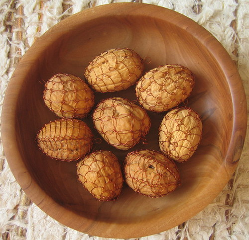 Ořechové ozdoby - vlašáky