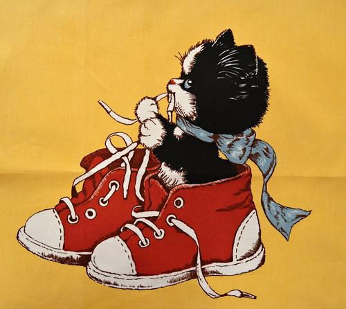 Kotě v botě