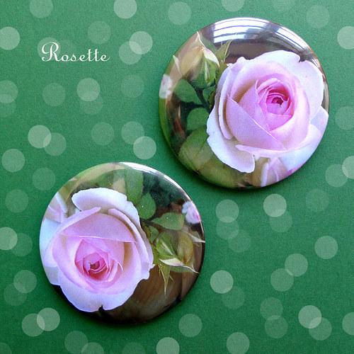 Na návštěvě u Růženky ... - magnet / placka
