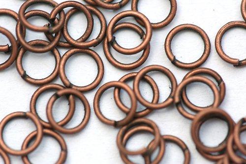 Spojovací kroužky jednoduché - 4 mm, 20 ks, mě