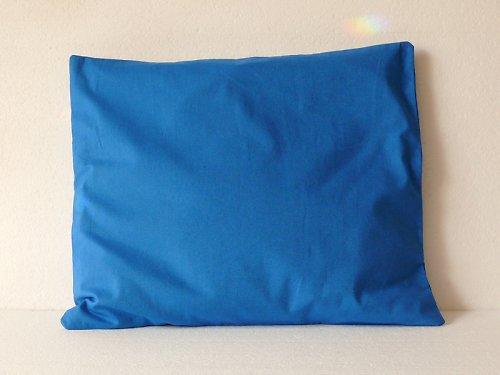 Polštář modrý - pohankové slupky 35x40 cm