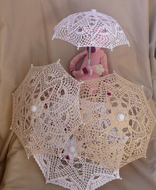 Dekorace- slunečník pro panenku