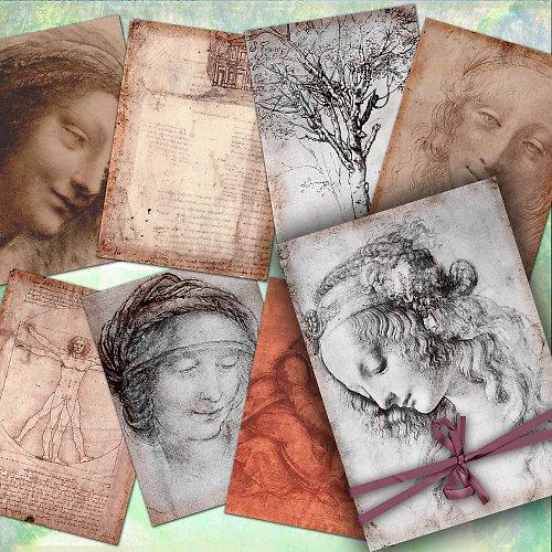 Nažehlovací obrázky - Vinci - cena za všechny