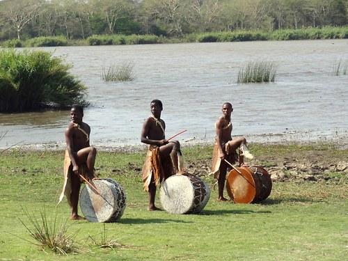 Bubeníci kmene Zulu