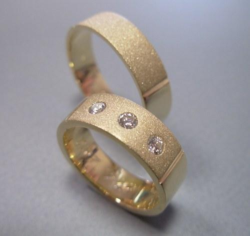 Snubní prsteny č.2