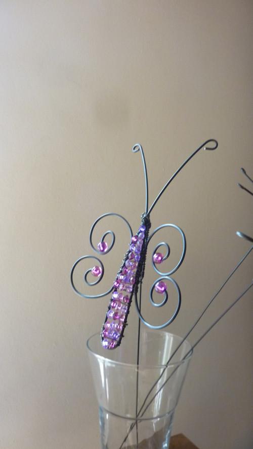 zápich-motýl