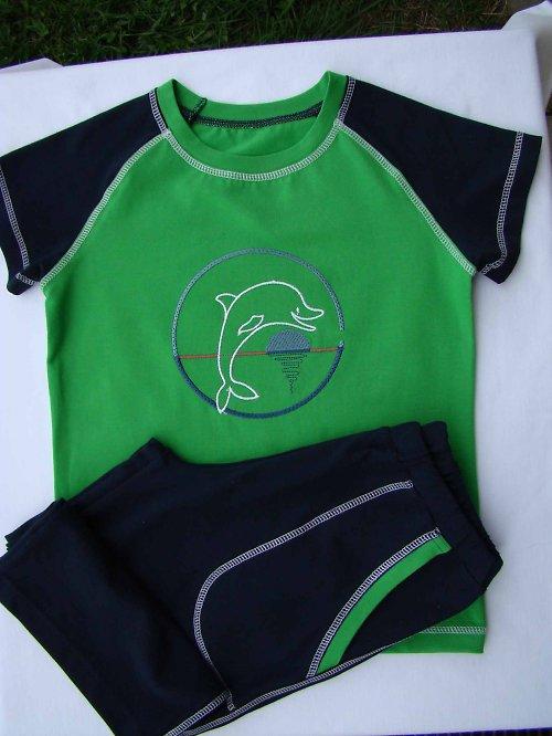 dětská souprava triko + 3/4 kraťasy