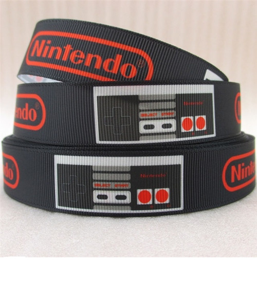 Stuha rypsová š.22 mm: Nintendo