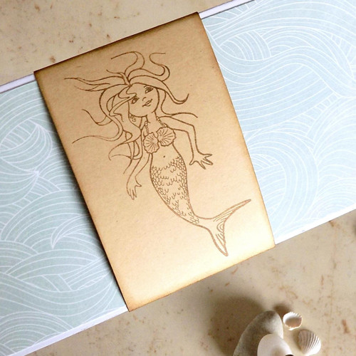 Mořská panna, DAROVACÍ OBÁLKA D76