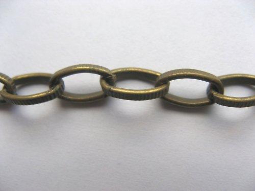 Řetízek 080 - mosaz - 50 cm