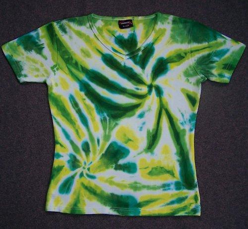 Dámské batikované tričko