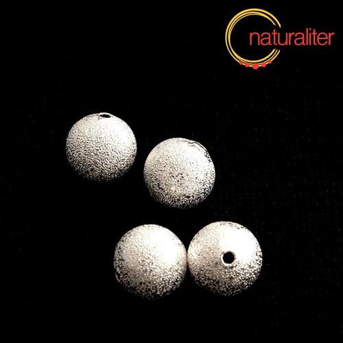 Kovový korálek 12mm - hvězdný prach 2ks