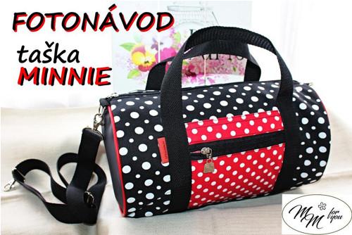 Minnie - prostorná taška - fotonávod.