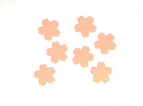 Členité kytičky - 7 ks - barva dle přání