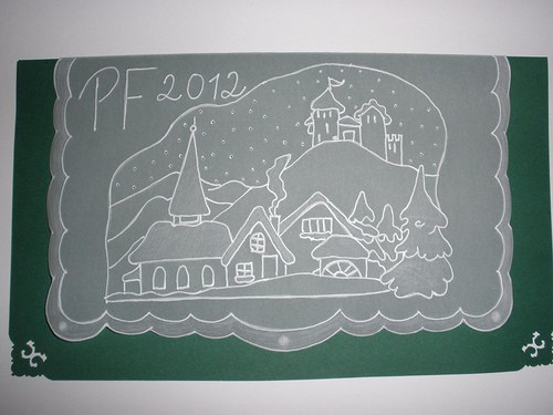 PF 2013 vánoční pergamano