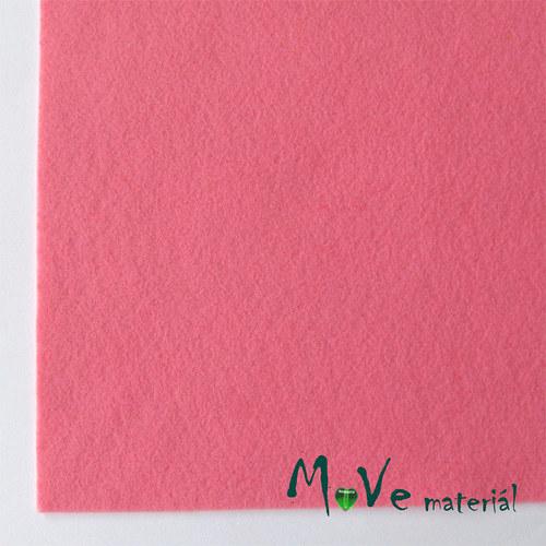 Plsť (filc) 20x30cm, 1ks, světle růžová