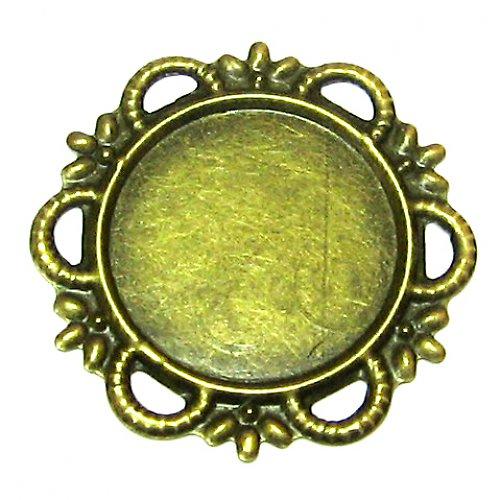 Lůžko okrasné - antik bronze