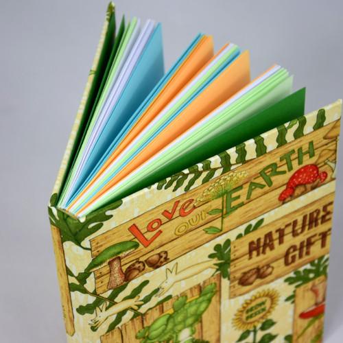 Ručně vázaný zápisník