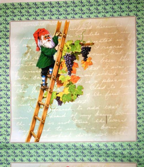 bavlněná látka - panel   26 x 26 cm
