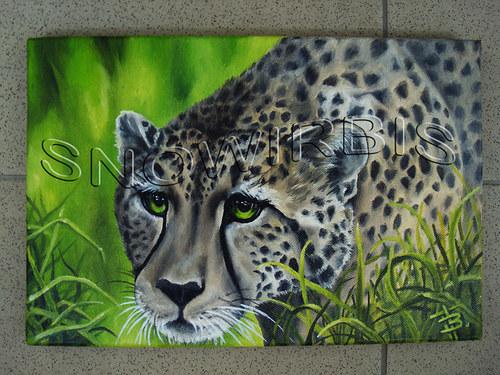 Gepard na lovu (mini)