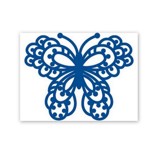 Vyřezávací a embossovací šablona / Motýl