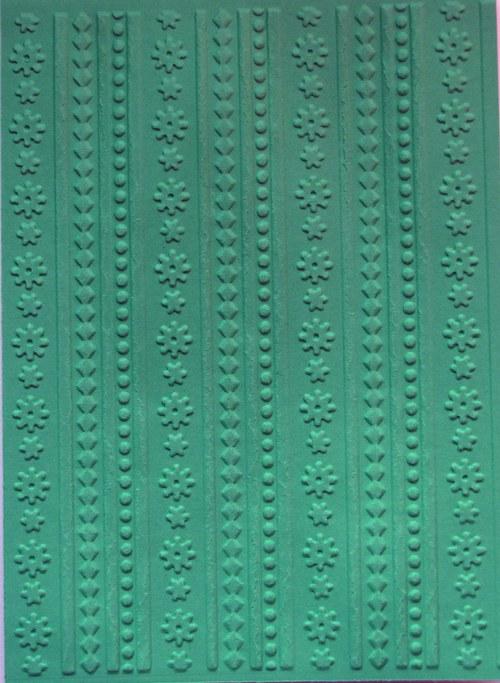 Proužky s kytičkami - barva podle přání