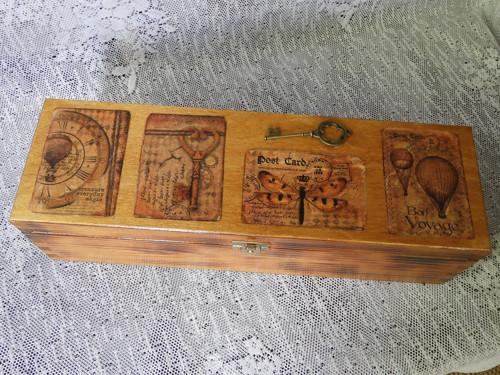 Originální šperkovnice pro muže s klíčem