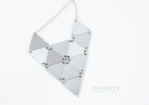 Trojúhelník - náhrdelník Velká liška