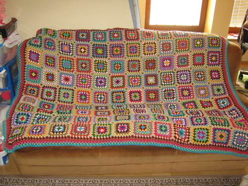 velká deka mnoha barev