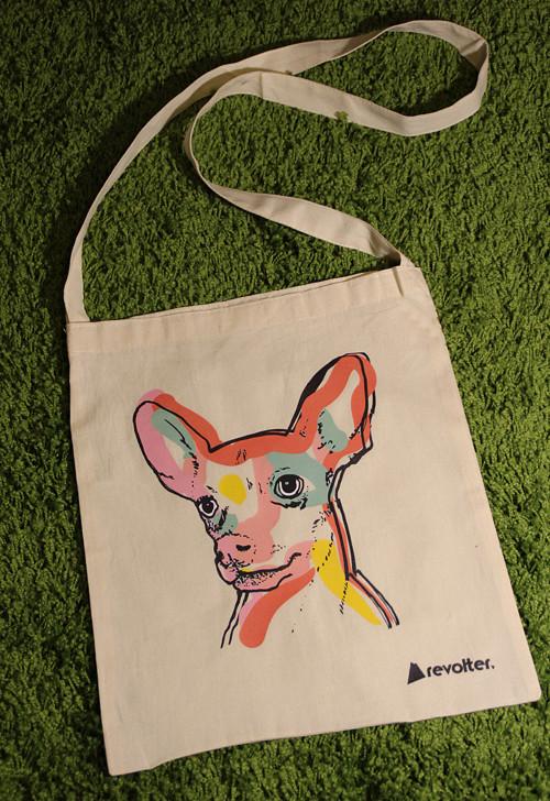 Eco Cross body bag s motivem psa