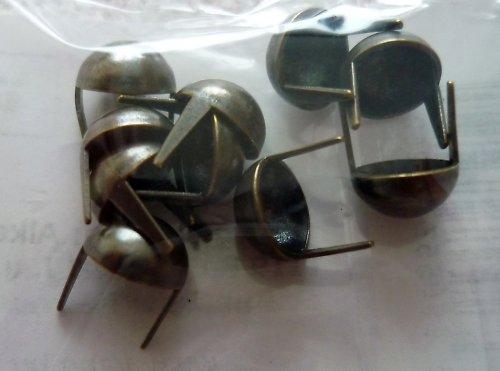 Svorky (Hřebíčky) kovové polokoule