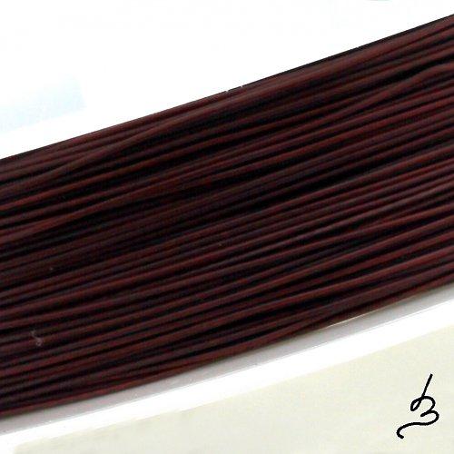 Ocelové lanko hnědé 0,45 - II. jakost