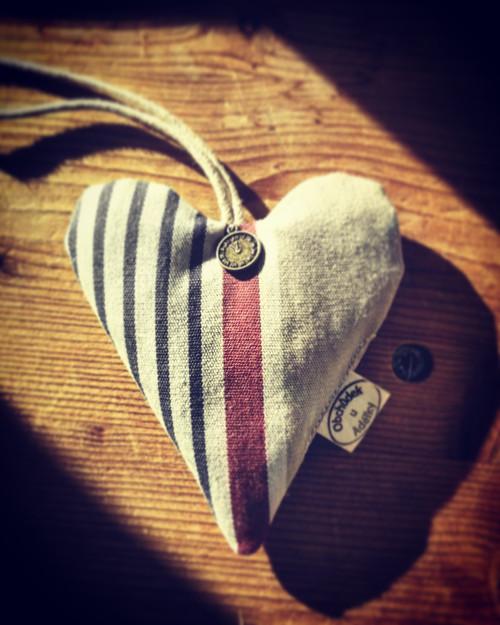 Námořnické srdce plněné LEVANDULÍ