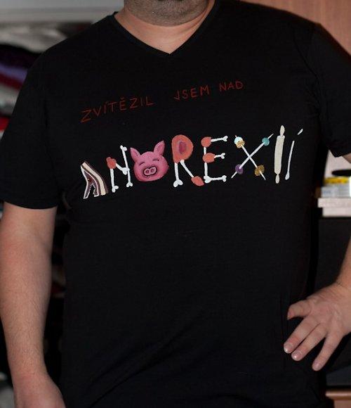 Tričko Anorexie