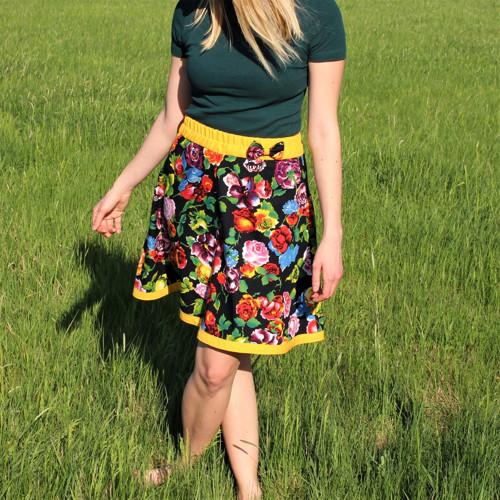 Kvetová sukňa