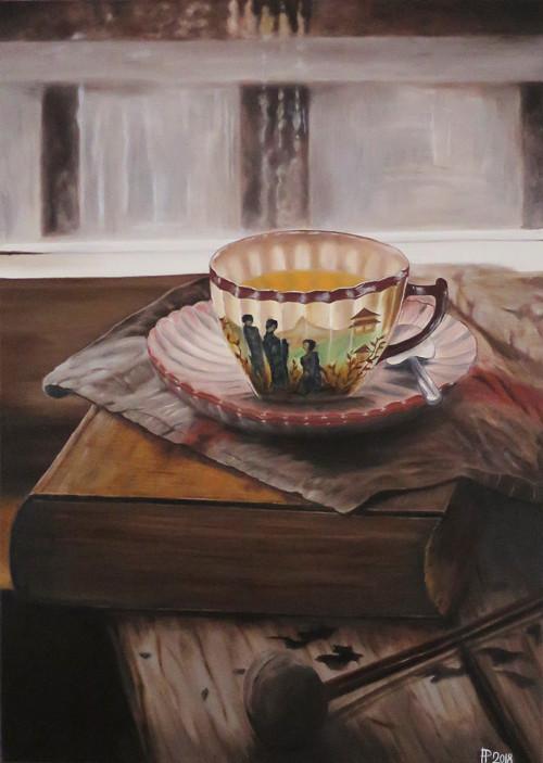 Obraz - čas na čaj