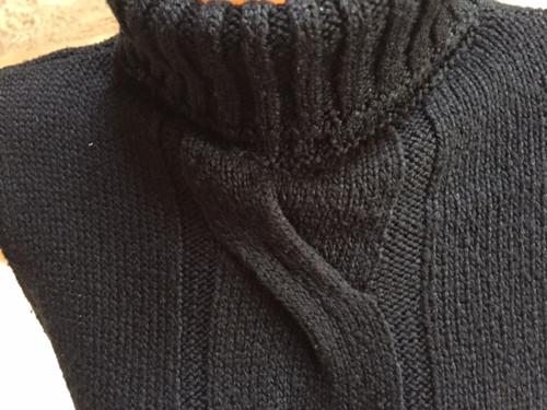 černá pletená vesta SLEVA