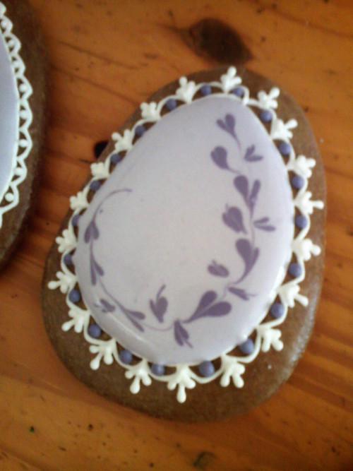fialkové vejce