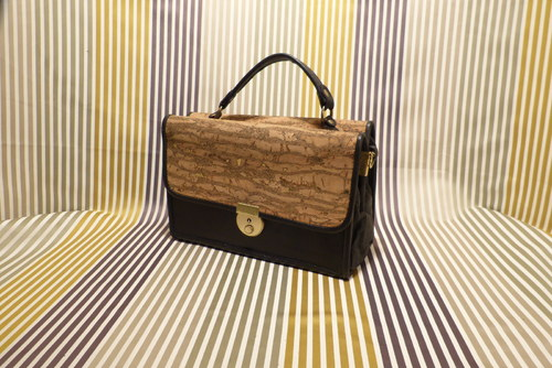 Kožená kabelka - Oboustranka - Sleva 50 %