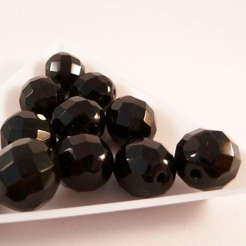 Ohňovky černé 12 mm 8  ks