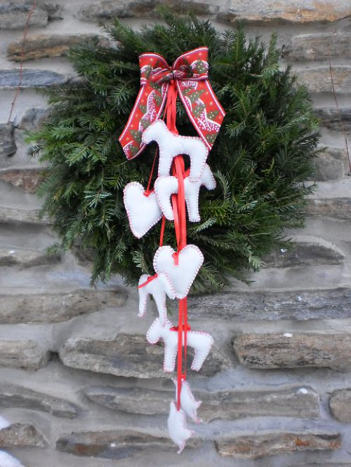 Velký vánoční věnec