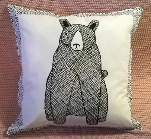 Polštářek s medvědem