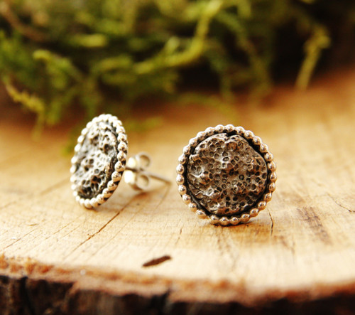 Korál puci - stříbro (Ag 925/1000)