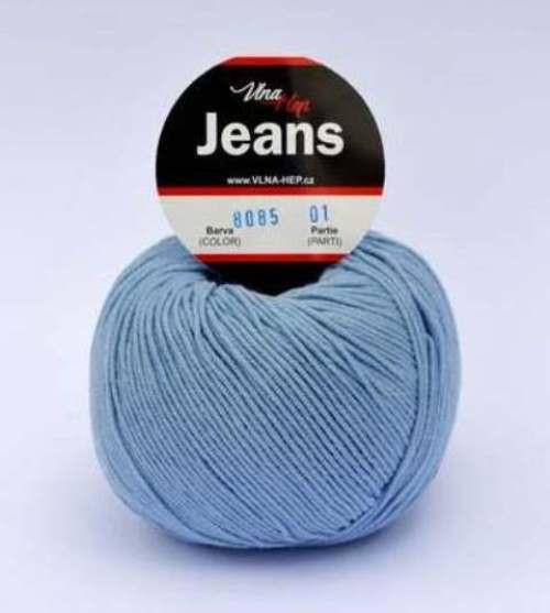 Jeans světle modrá 8085