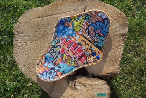Látková vložka NOČNÍ - Grafitti