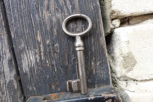 Ke starým časům...starý železný klíč 74