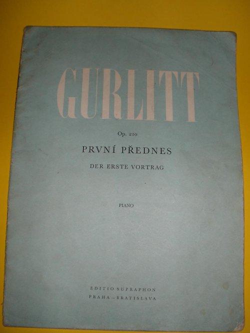 Gurlitt piano 1967
