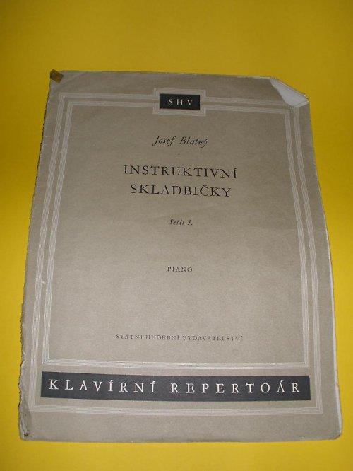 Instruktivní skladbičky I 1964