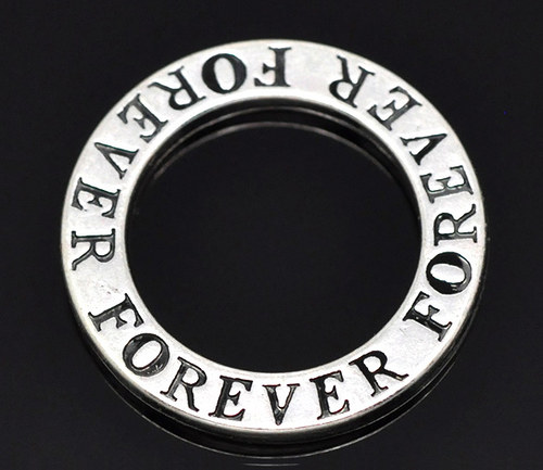 KKO2385, Kruh Forever StaroSTRIEBRO /1ks