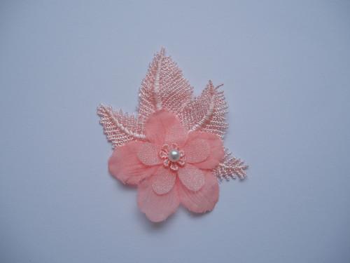 Vývazek květina-růžový